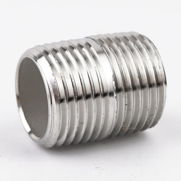 "Stainless Nipple – 1/2"" x 1″ Threaded"