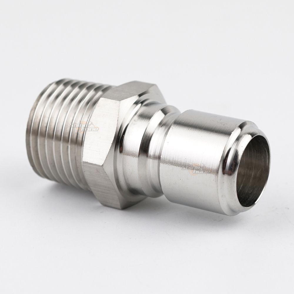Stainless Steel Quick Disconnect - Male QD x 1/2 in. MPT