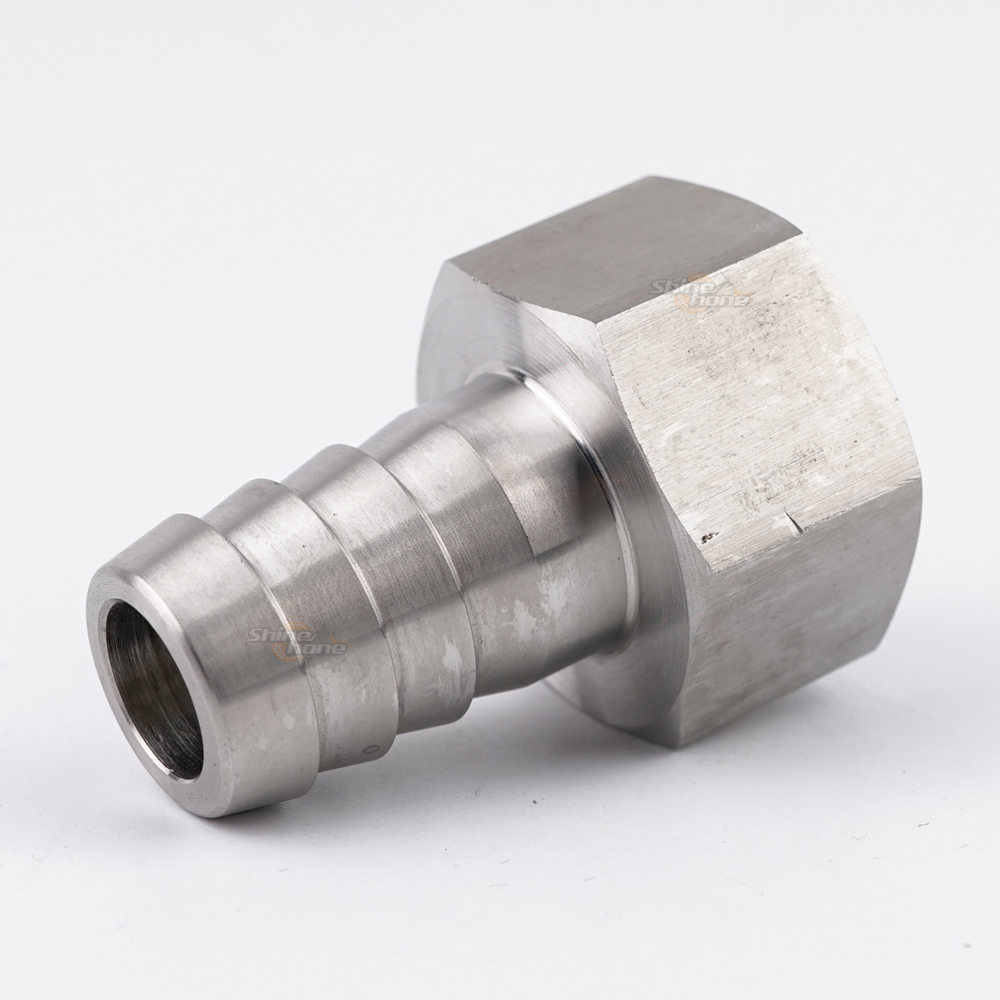 Stainless Steel Fittings – 3/4 in. FPT x 3/4 in. Barb