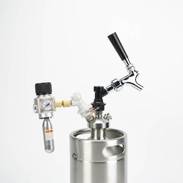 Portable Cornelius Keg Dispense Kit