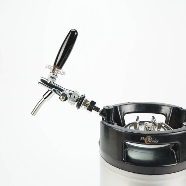 Stainless Steel 304 Draft Beer Faucet with Flow Controller (1)