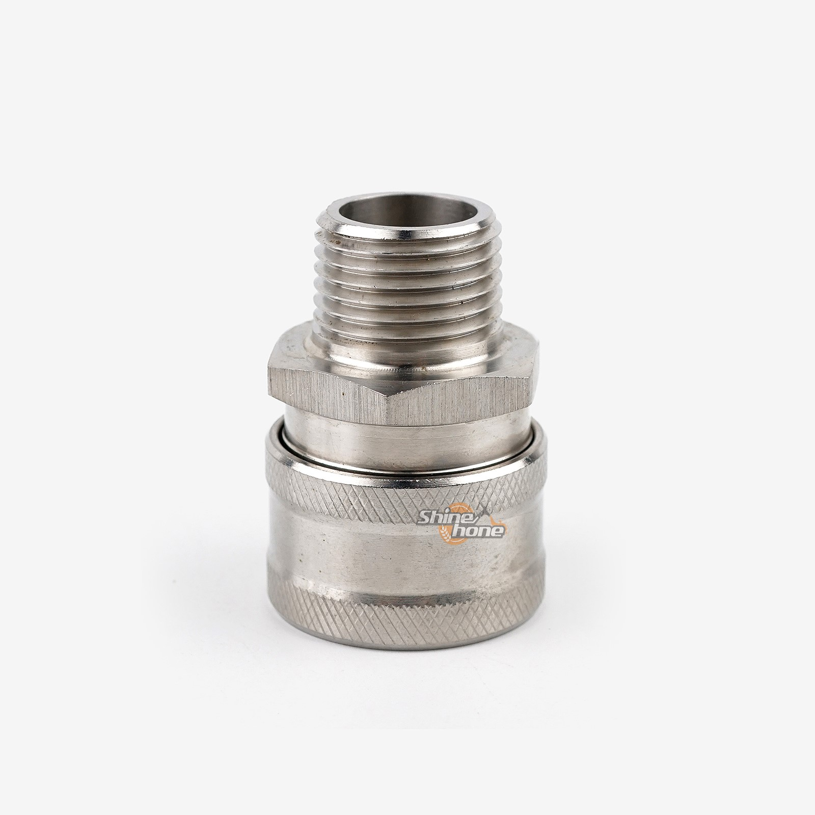 Stainless Steel Female Quick Disconnect MPT 1//2