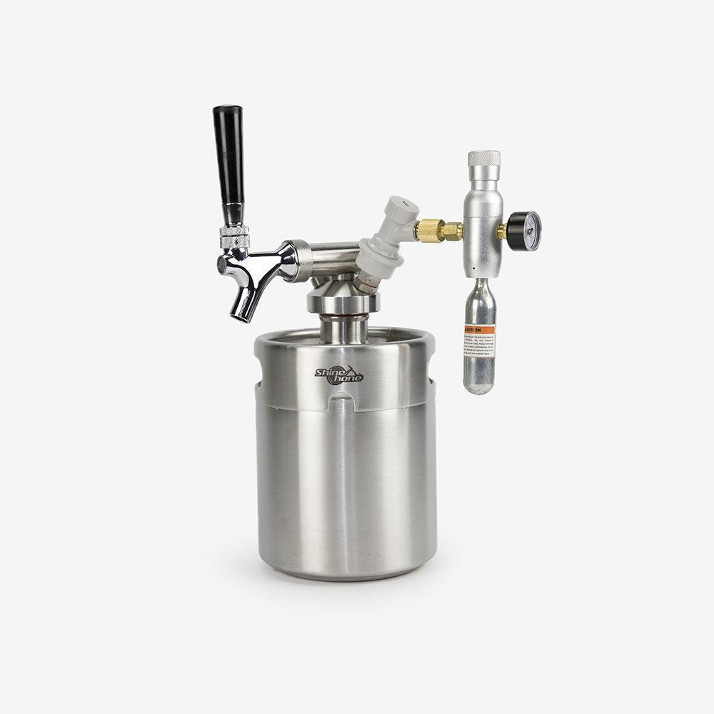 2 Liters Growler Keg System - Type D
