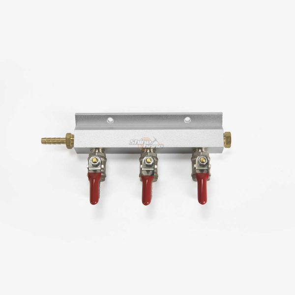 3-Way Gas Manifold