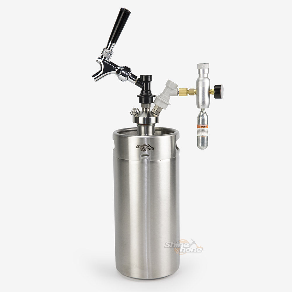 3.6 Liters Growler Keg System - Type E