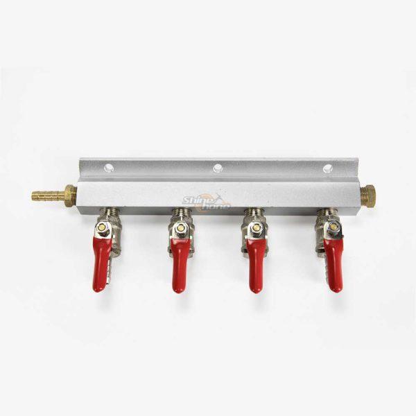 4-Way Gas Manifold