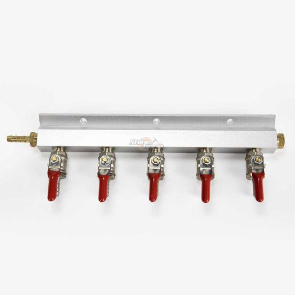 5-Way Gas Manifold