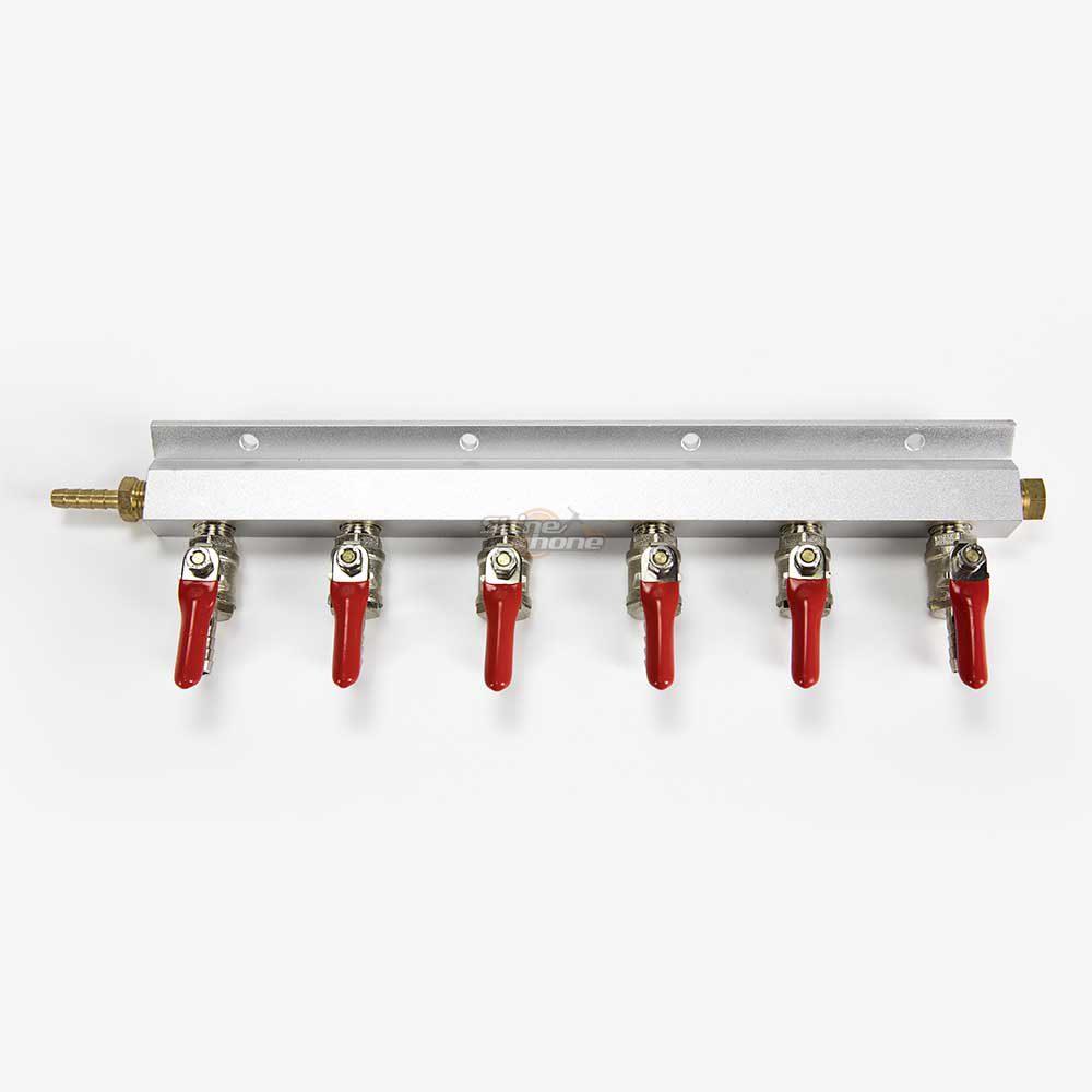 6-Way Gas Manifold