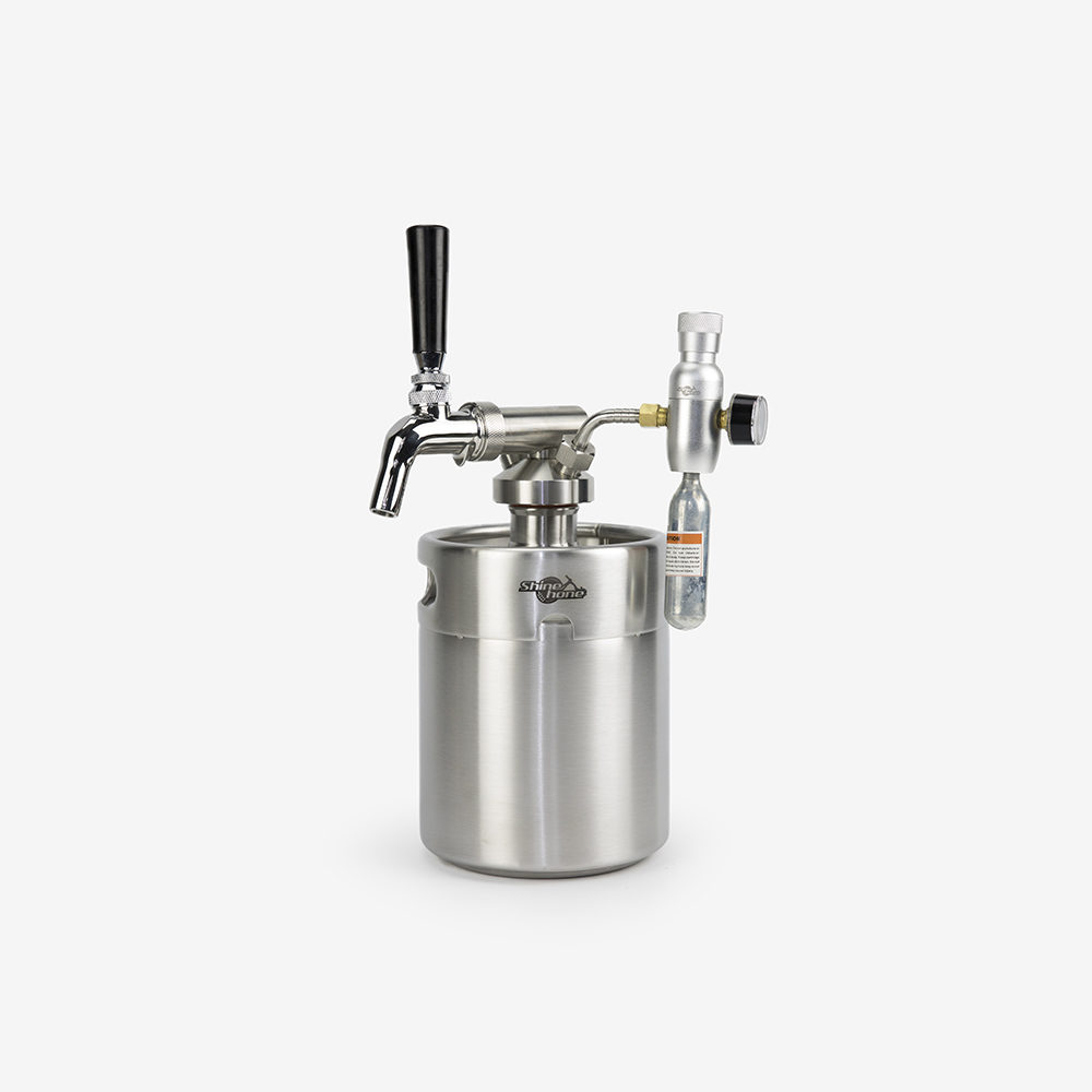 2 Liters Growler Keg System – Type A